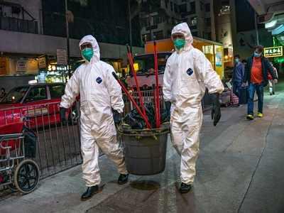 Hong Kong denies 'slavery' as prisoners work nights to make face masks