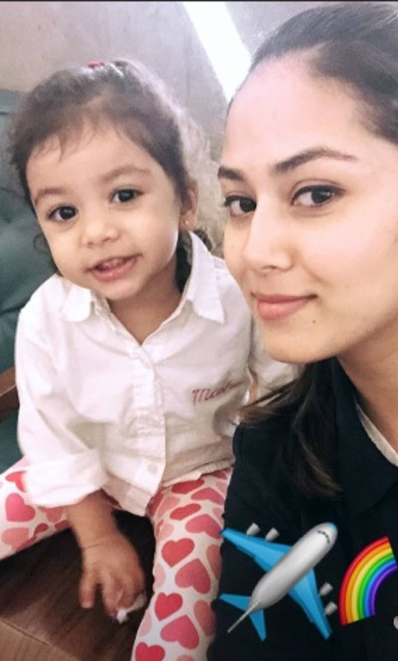 Mira Rajput Kapoor goes on a vacation with daughter Misha