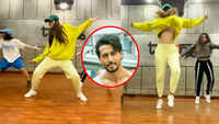 Disha grooves to 'Tap In', Tiger showers love