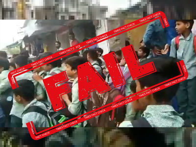 Fake alert: Mandsaur school students did not raise 'Pakistan Zindabad' slogan