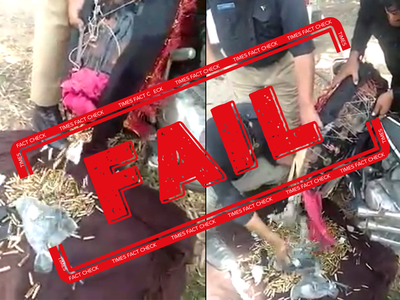 Fake alert: Video showing police retrieving arms and ammunition from bike is not from Kashmir