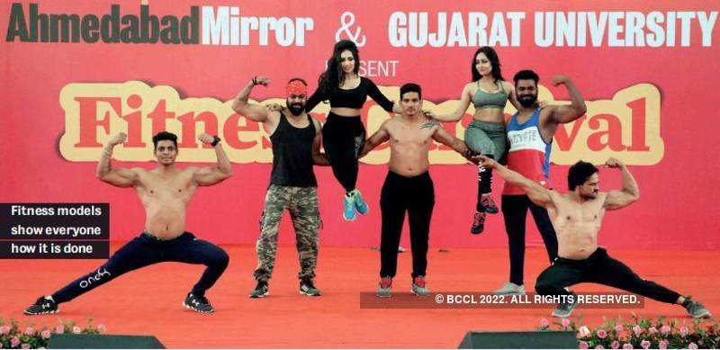 Mirror4Fitness is a success among the Amdavadis!
