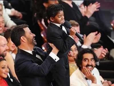 Oscars 2017: Jimmy Kimmel, Sunny Pawar recreate iconic 'The Lion King' moment