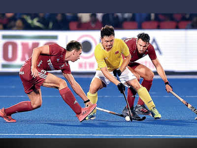China draws 2-2 against England in men's Hockey World Cup debut match
