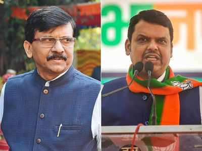 Sanjay Raut and Devendra Fadnavis' meeting sparks speculations in political circle