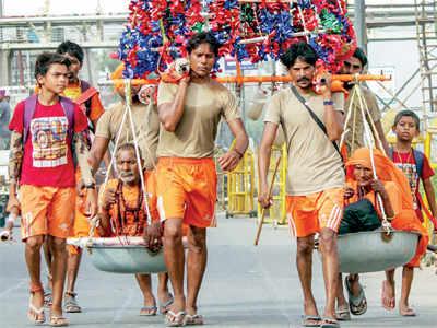 Who is a Hindu? North's Kanwariya and South's Kavadi