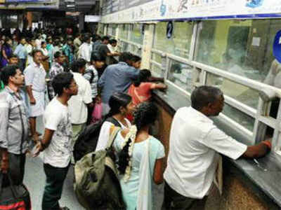Train reservation counters to reopen