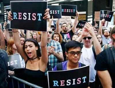 Transgender service members sue Trump over looming ban