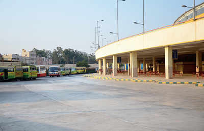 Peenya bus stand turns white elephant; KSRTC's rent hopes dashed