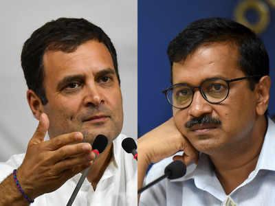 Rahul Gandhi says Congress can give AAP 4 seats