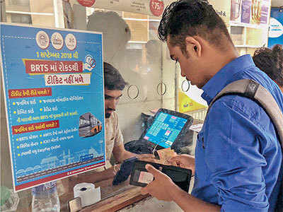 'Cashless BRTS not welcome'