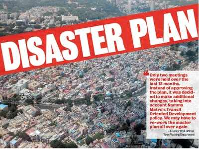 An outdated Master Plan 2015 is being used to issue permission to change land use in Bengaluru's outskirts