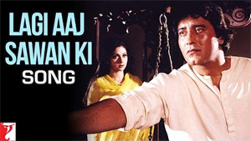 Chandni Song Lagi Aaj Sawan Ki Hindi Video Songs Times Of India