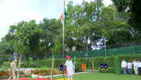 74th Independence Day: HM Amit Shah hoists tricolour