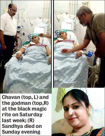 Black magic rite caught on camera at hospital
