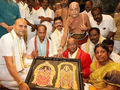 Andhra CM Jaganmohan Reddy's uncle YV Subba Reddy takes over as Tirumala temple board chairman