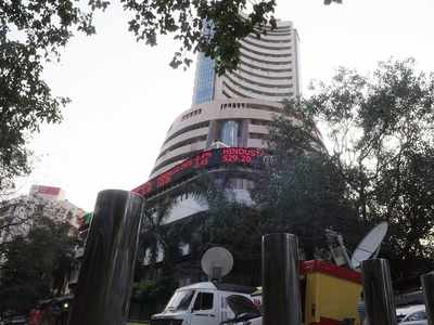 Sensex drops over 100 pts on profit-booking, weak global cues