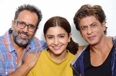 Zero: Anushka Sharma wraps up the Shah Rukh Khan, Katrina Kaif-starrer