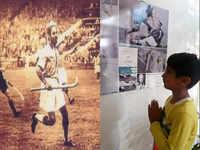 At the 1952 Helsinki Olympics hockey venue, Balbir Sr. lives on