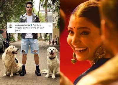 Here's how Anushka Sharma trolled Varun Dhawan on his latest Instagram post