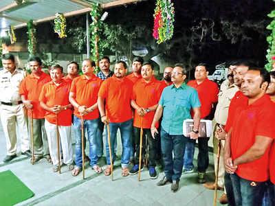 Wagholi residents go on night patrol