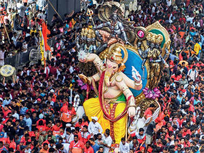 Ganesh Chaturthi 2018: A famous neighbour for Lalbaugcha Raja, Chinchpokli's Chintamani