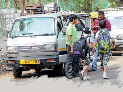 6/10 schools don't do due diligence of van, rickshaw drivers