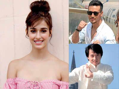 In many ways, Tiger Shroff reminds me of Jackie Chan, says Baaghi 2 actress Disha Patani