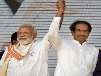 Shiv Sena chief Uddhav Thackeray slams Congress-led opposition in his rally