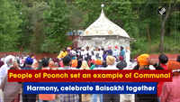 People of Poonch set an example of Communal Harmony, celebrate Baisakhi together