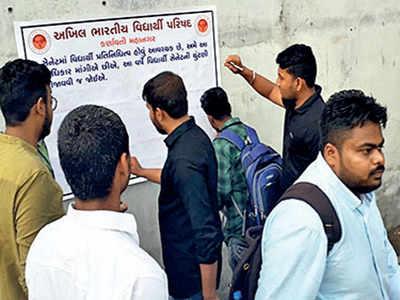 GU senate election: ABVP starts signature campaign
