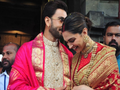 Watch: Deepika Padukone and Ranveer Singh celebrate their one-year wedding anniversary at Tirupati