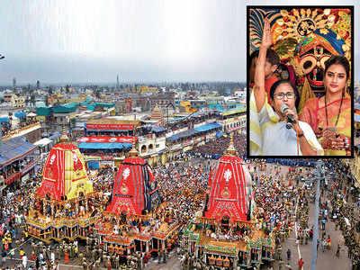 Jagannath Yatra begins, Mamata calls for harmony