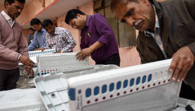 Govt seeks Rs 1600 crore to pay EVM suppliers