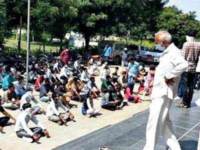 GPSC, LRD protest spills onto poll ground