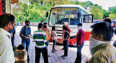 Pune: 43 students head back to Ahmednagar
