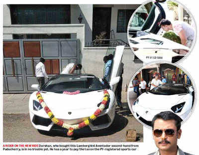 State's 'watch register' starts off with Darshan's Lamborghini