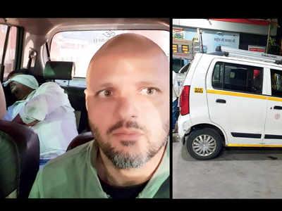 Techie behind wheel as Ola cabbie found drunk