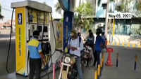 Fuel prices hiked for third straight day