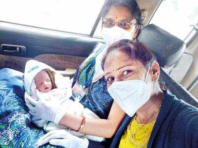 Village cradles baby whose mother tested positive for COVID-19