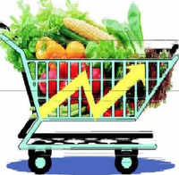 Retail inflation 4-month high as food prices rise