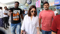 Actress Yami Gautam arrives in Lucknow to shoot for her next 'Bala'