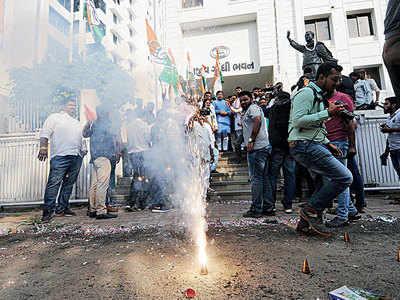 Gujarat by-polls: BJP's setback, Congress' gain