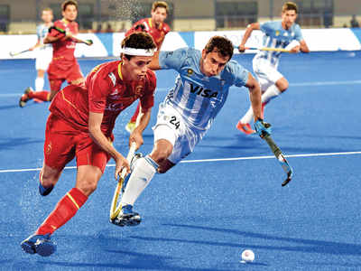 Hockey World Cup 2018: Argentina defeats Spain 4-3 in first Pool A match