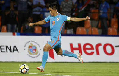 Happy Birthday Sunil Chhetri: Abhishek Bachchan, Mamata Banerjee wish India's football legend
