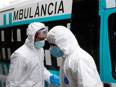Spain's coronavirus deaths rise above 10,000