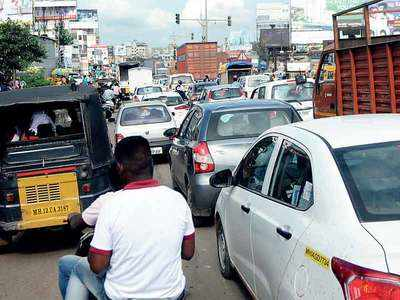 Heavy vehicles will be banned on select roads in peak hours