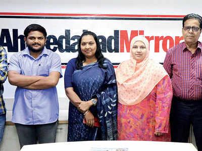 Hardik Patel, Rajshri Kesari, Dr Nitin Pethani join Mirror Round Table: Is Gujarat govt discriminating against Muslim students?