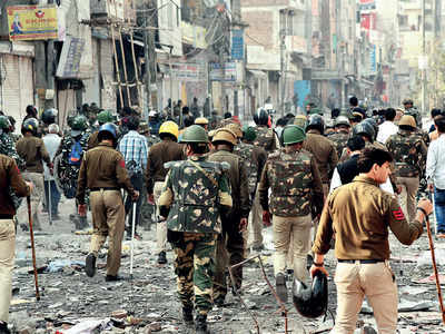 Do you see the riots going on in North-East Delhi spreading to other parts of the country?