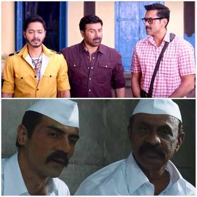 Poster Boys vs Daddy day 1 box office collection: Sunny Deol, Bobby Deol's comedy performs better than Arjun Rampal's gangster drama